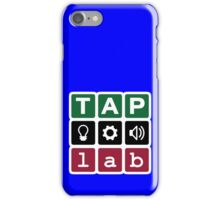 TAP:lab Makerspace iPhone Case/Skin