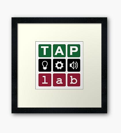 TAP:lab Makerspace Framed Print