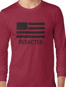 State of Secrecy (Redacted Version) Long Sleeve T-Shirt