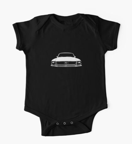 1968 Mustang One Piece - Short Sleeve