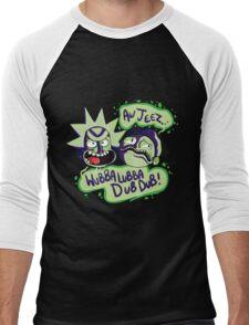 AW JEEZ, WUBBA LUBBA DUB DUB! Men's Baseball ¾ T-Shirt