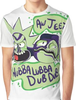 AW JEEZ, WUBBA LUBBA DUB DUB! Graphic T-Shirt