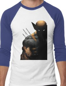 dark wolverine Men's Baseball ¾ T-Shirt