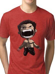 wolverine comics Tri-blend T-Shirt