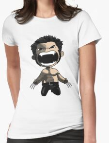 wolverine comics Womens Fitted T-Shirt