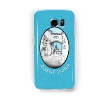 Assisi, Italy, an archway framing the view Samsung Galaxy Case/Skin