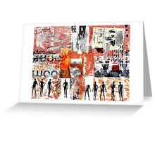 RICH PAST Greeting Card