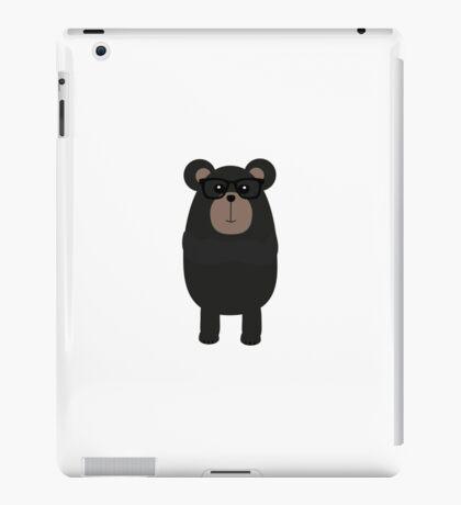 Nerd Black Bear iPad Case/Skin