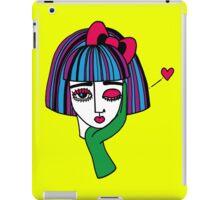 Yellow kisses iPad Case/Skin
