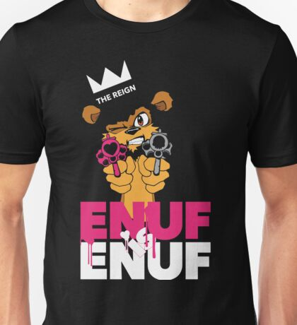 ENUF is ENUF_Black Unisex T-Shirt