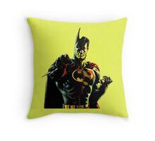 super batman Throw Pillow