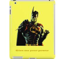 super batman iPad Case/Skin
