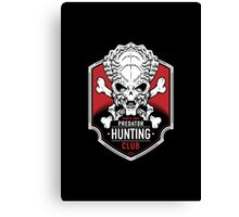Predator Hunting Club Canvas Print