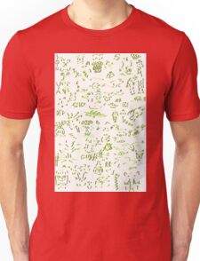 Assorted images - red yellow blue green T-Shirt