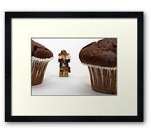 Cakes - why did it have to be cakes?? Framed Print