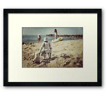 Tatooine beach Framed Print