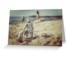 Tatooine beach Greeting Card