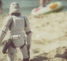 Tatooine beach Sticker