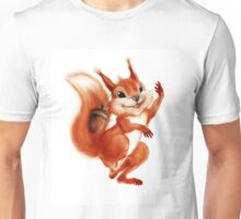 cheerful squirrel Unisex T-Shirt