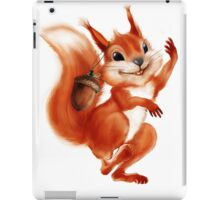 cheerful squirrel iPad Case/Skin
