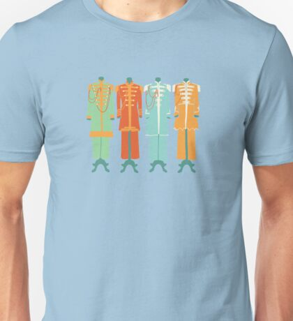The Beatles - Sgt Peppers Lonely Hearts Club Band Unisex T-Shirt