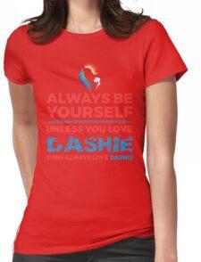 Always Love Dashie Womens Fitted T-Shirt