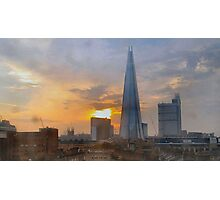 SHARD AND ROOFTOPS/COLLECTION/TEES/CASES/MORE Photographic Print