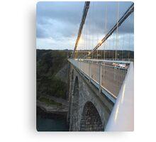 Bridge Adventurer  Canvas Print