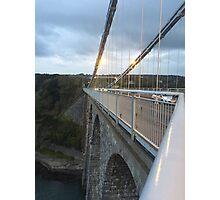 Bridge Adventurer  Photographic Print