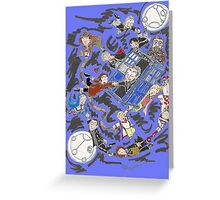 13 Doctors lost Greeting Card