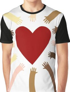 Love's the word Graphic T-Shirt