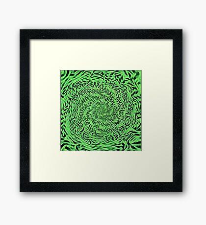 Alien Matrix Framed Print
