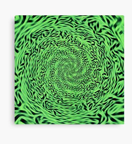 Alien Matrix Canvas Print