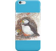 PUFFINS ART/TEES/STICKERS iPhone Case/Skin
