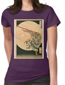 Jade Rabbit and Sun Wukong (The Monkey King). Womens Fitted T-Shirt