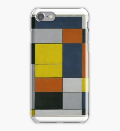 Piet Mondrian    No. VI Composition No.II iPhone Case/Skin