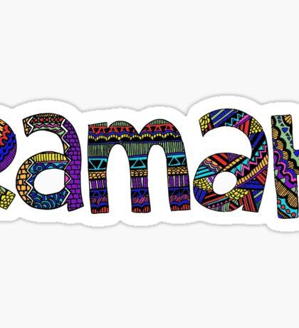 ramah Sticker