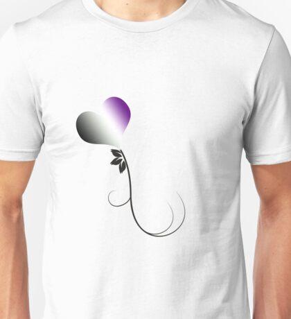 Ace Heart Flower Unisex T-Shirt