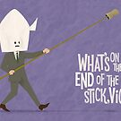 The Man with The Stick by Dyna Moe