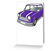 Classic Mini #6 Greeting Card