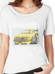 Escort RS2000 Mk2 By Glens Graphix Women's Relaxed Fit T-Shirt