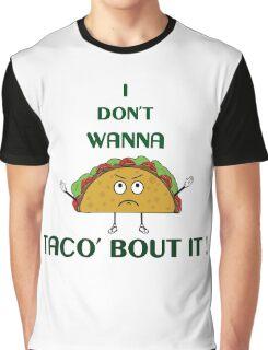 Funny Taco Design Graphic T-Shirt