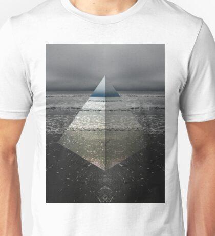 Triangled Beach  Unisex T-Shirt
