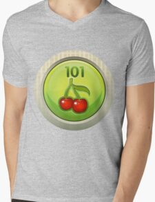 Glitch Achievement entrylevel fruit tree harvester Mens V-Neck T-Shirt