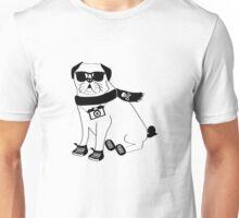 Hipster Pug - Cute Dog Cartoon Character - Puggle Unisex T-Shirt