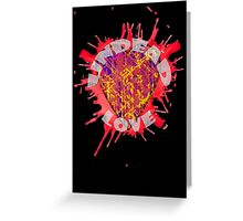 undead love Greeting Card