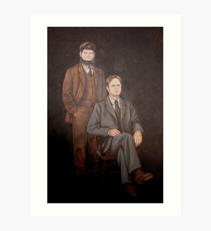 Dwight Schrute Painting Art Print