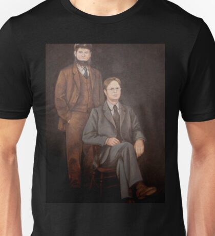 Dwight Schrute Painting Unisex T-Shirt