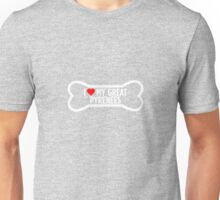 I Love My Great Pyrenees  Unisex T-Shirt
