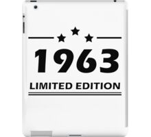 1963 LIMITED EDITION iPad Case/Skin
